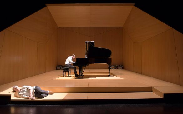 La Fonction Ravel un projet de et avec Claude Duparfait, en collaboration avec Célie Pauthe, au Piano François Dumont